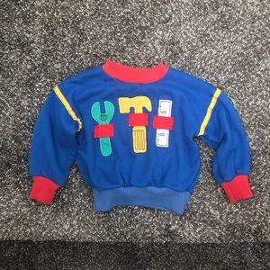 < vtg carter's sweatshirt >